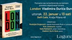 """Predstavljanje knjige """"London"""" Vladimira Đurića Đure"""