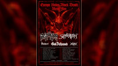 Suffocation i Belphewgor na evropskoj turneji u aprilu