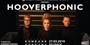 Hooverphonic 27. marta u Beogradu
