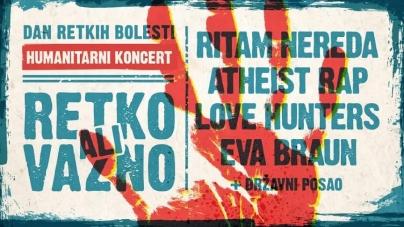 """Humanitarni koncert """"Retko, ali važno!"""" 28. februara u novosadskom Studiju M"""