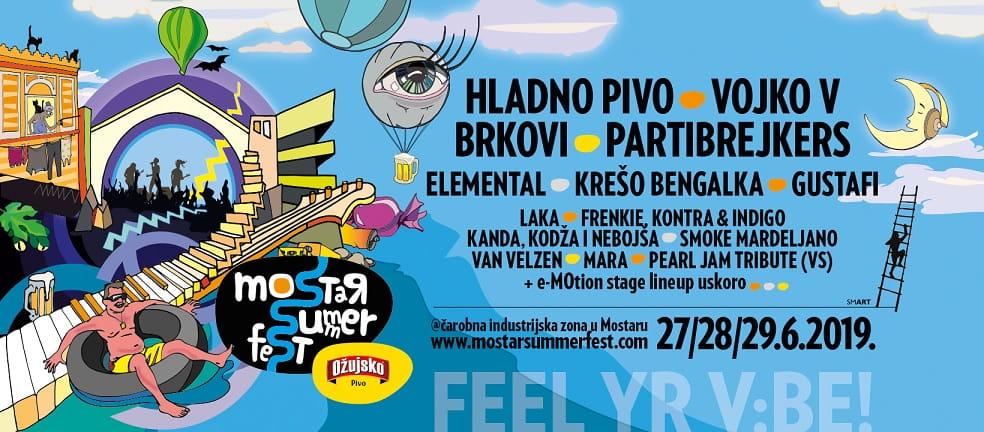 Mostar Summer Fest 2019