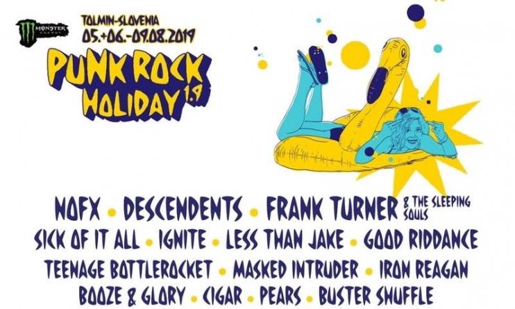 Još imena za ovogodišnji Punk Rock Holiday