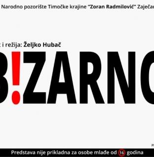 """Predstava """"Bizarno"""" u Narodnom pozorištu RS"""
