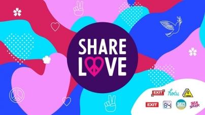 #ShareLove: EXIT prikuplja i nagrađuje akcije ljubavi iz cijele regije