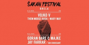 Goran Bare & Majke, Vojko V, Jay Farrar i drugi na 4. Šakan Festivalu u Brelima