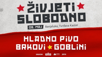 'Živjeti slobodno' večeras na banjalučkoj tvrđavi Kastel