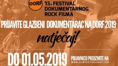 Otvoren natječaj za 13. DORF (festival dokumentarnog rock filma)