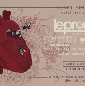 Heart Sound Metal Fest 2019 Lineup Revealed