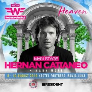 Hernan Cattaneo prvo ime ovogodišnjeg Fresh Wave Festivala