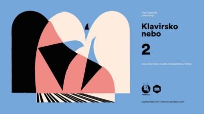 """Otvoren konkurs KLAVIRSKO NEBO #2 – """"Nova klavirska muzika kompozitora iz Srbije"""""""
