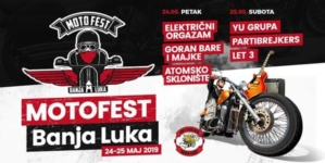 Moto Fest Banjaluka 2019: Goran Bare i Majke, Električni orgazam, Partibrejkers i drugi na tvrđavi Kastel
