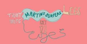 Natjecanje Čuješ?! 12. 3. predstavlja tri nova benda: Tight Grips, Legs i Martin's Surfers