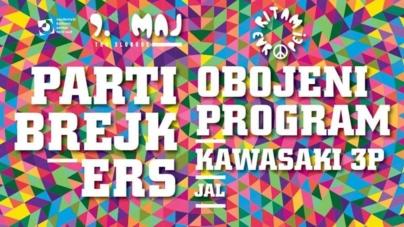 Partibrejkers,Obojeni Program,Kawasaki 3P iJAL na novosadskoj manifestaciji 'Ritam Evrope'