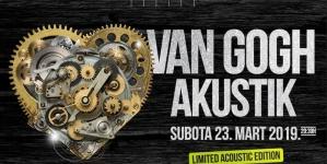 Van Gogh Akustik 23. marta u Kombank dvorani