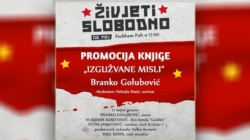 """Živjeti slobodno 2019. – Promocija knjige """"Izgužvane misli"""""""