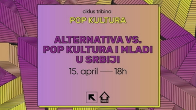 """Alternativna vs. pop kultura i mladi u Srbiji"" u niškom Feedback-u"