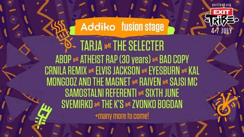 Od Mančestera do Balkana: Stigao je novi talas izvođača za Addiko Fusion binu na Exitu