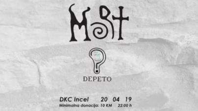M.O.R.T. i Đepeto u subotu u banjalučkom DKC Incel