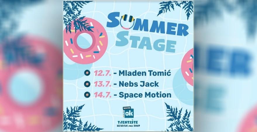 Nektar OK Fest 2019 - OK Summer stage donosi najbolje dnevne zabave na Tjentištu