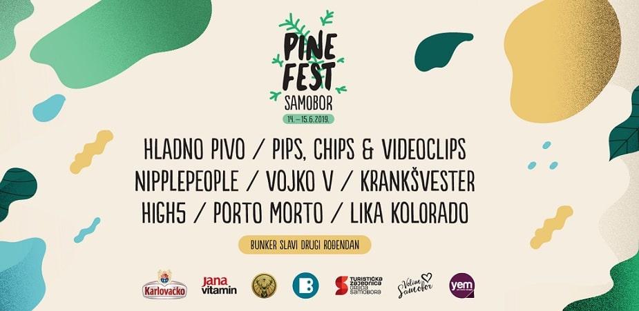 Pipsi, Nipplepeople, Krankšvester i Porto Morto nova imena prvog Pine festa u Samoboru