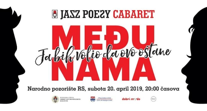 Jazz Poesy Cabaret 20. aprila u Narodnom pozorištu RS
