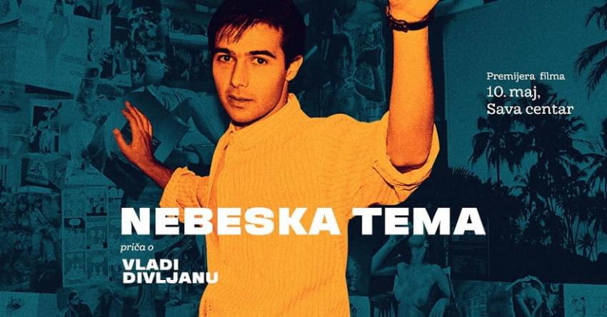 Premijera filma 'Nebeska tema' o Vladi Divljanu 10. maja u Sava centru
