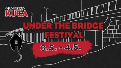 Under the Bridge fest 3. i 4. svibnja u Zagrebu