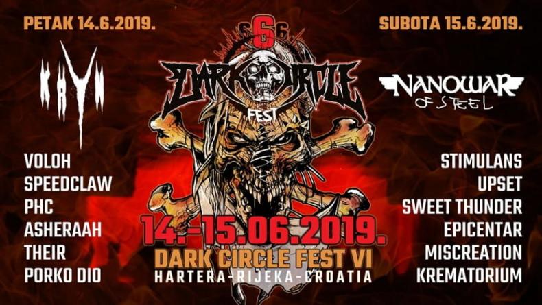 Dark Circle Festival VI – Najmračniji festival ovog vikenda u riječkoj Harteri