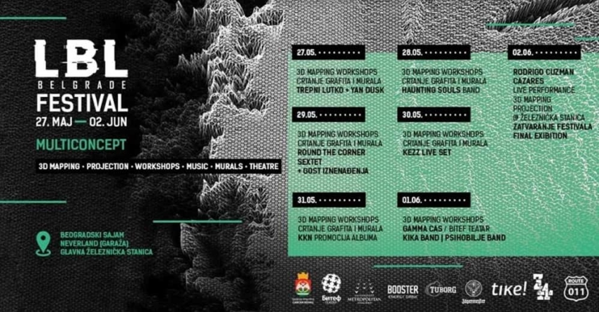 LBL Belgrade festival – objavljen kompletan muzički program i satnica