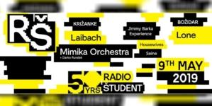 Radio Študent Ljubljana slavi 50. rođendan