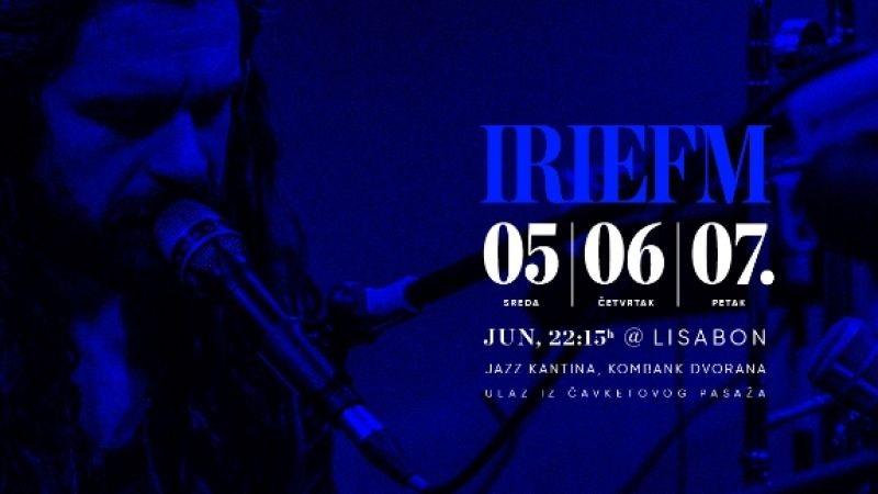 Tri koncerta irieFM-a u Jazz kantini Lisabon