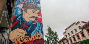 Završen mural posvećen Davorinu Popoviću u centru Sarajeva