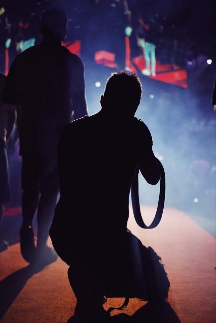 koncertni fotograf