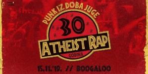 Atheist Rap u zagrebačkom Boogaloo slavi trideset godina postojanja