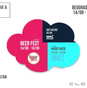 CLOUD festivalska groznica – oblak dobre zabave nad Beogradom