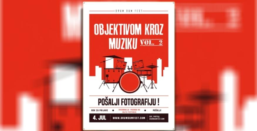 "Drum Dum Fest 009 otvara FOTO Konkurs: ""Objektivom kroz muziku Vol. 2"""