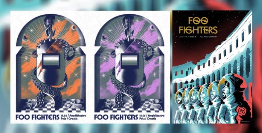 Humanitarna akcija s posebnom edicijom Foo Fighters plakata