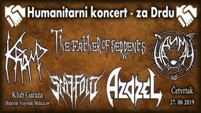Humanitarni koncert za Drdu