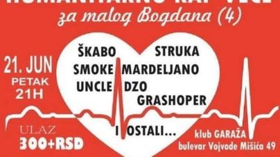 Humanitarno rep veče 21. juna u beogradskom klubu Garaža