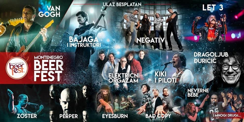 Muzički program prvog Montenegro Beer Festa