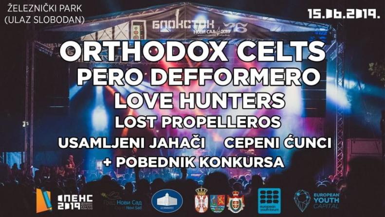 Orthodox Celts, Love Hunters, Pero Defformero i drugi na Blokstok festivalu