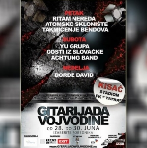 Sutra počinje 5. Gitarijada Vojvodine – Kisač