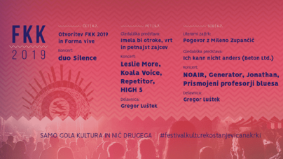 Repetitor, Jonathan, Koala Voice i drugi na 2. Festivalu Kulture Kostanjevica (FKK)