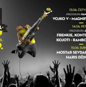 8. haloo Sarajevo Beer Festval od 13. do 15. juna