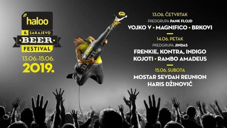 Nagradna igra | Dijelimo 5×2 ulaznice za 8. haloo Sarajevo beer festival