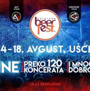 17. Belgrade Beer Fest – Više od 120 besplatnih koncerata za pet dana na četiri bine