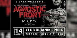 Agnostic Front na 16. Viva La Pola! festivalu u klubu Uljanik