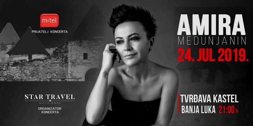 Amira Medunjanin 24. jula u Banjaluci