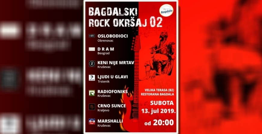 """Bagdalski rock okršaj"" 13. jula na epskom kruševačkom Brdu"