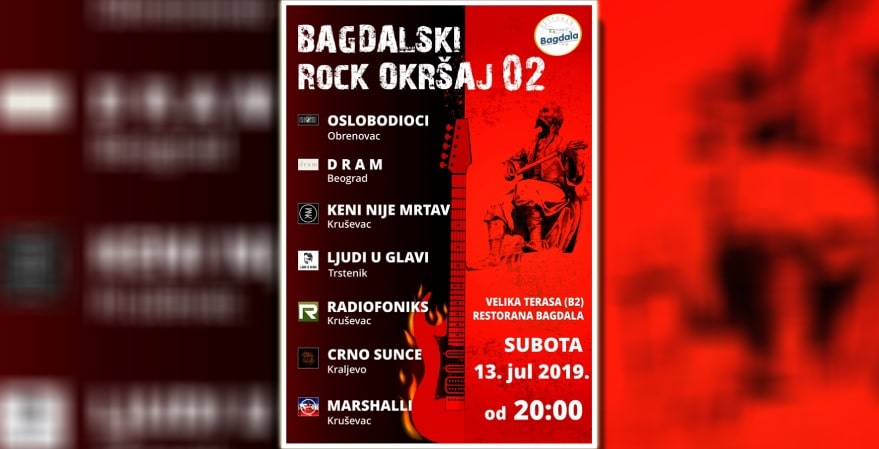Bagdalski rock okršaj 2019